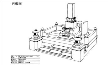 CAD外観図